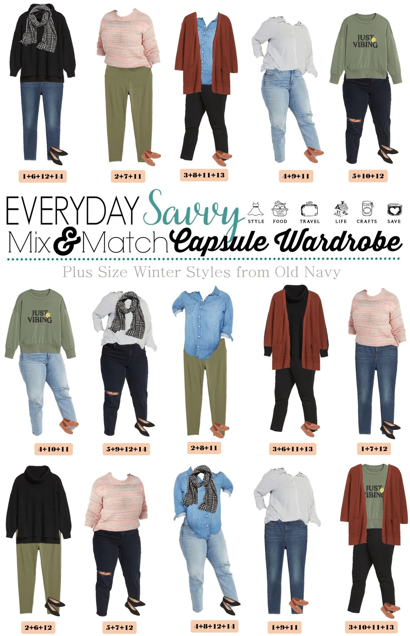 Plus Size Winter Outfits Capsule Wardrobe Outfit Ideas