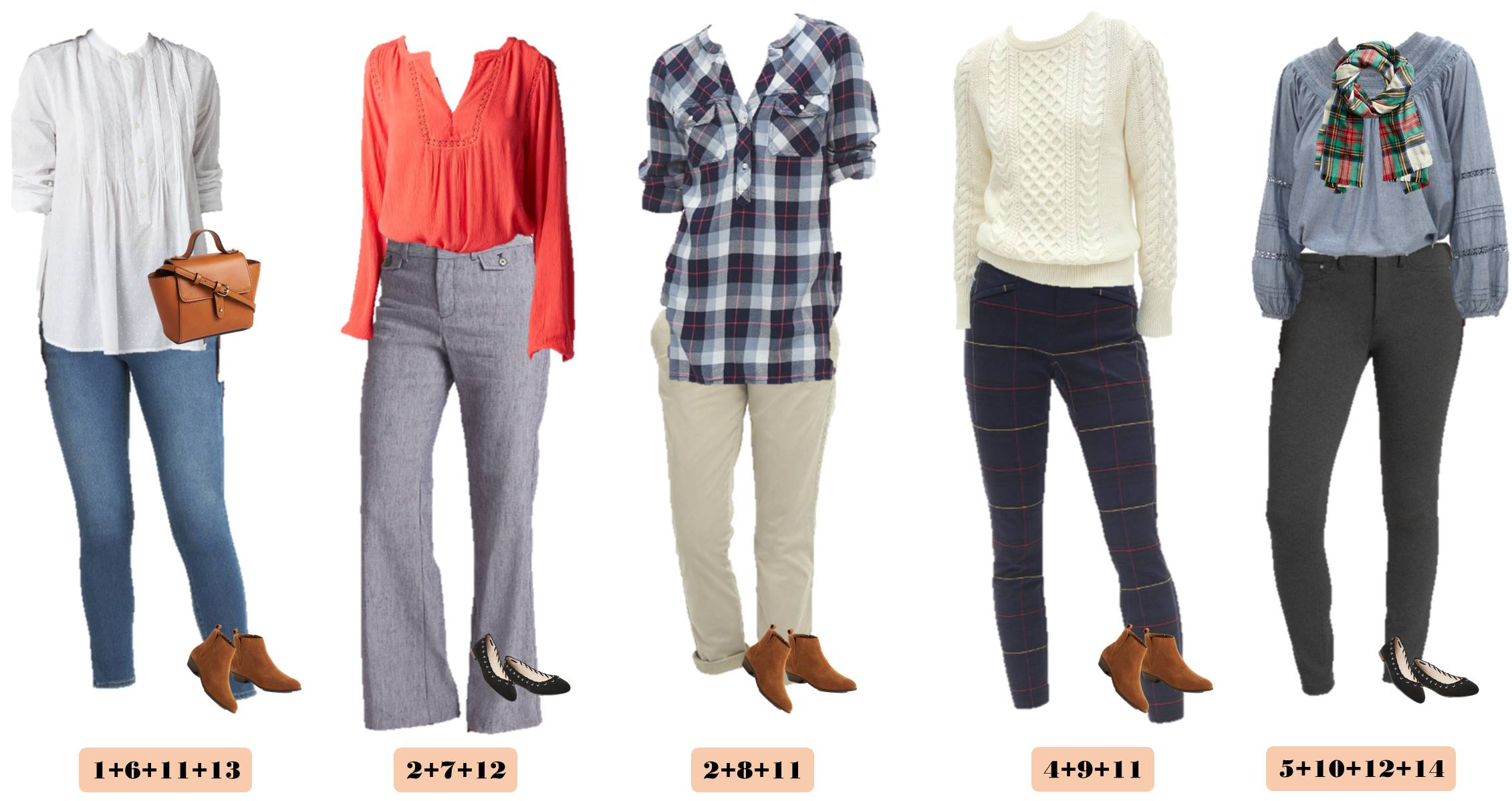 cute fall outfits for women that mix and match