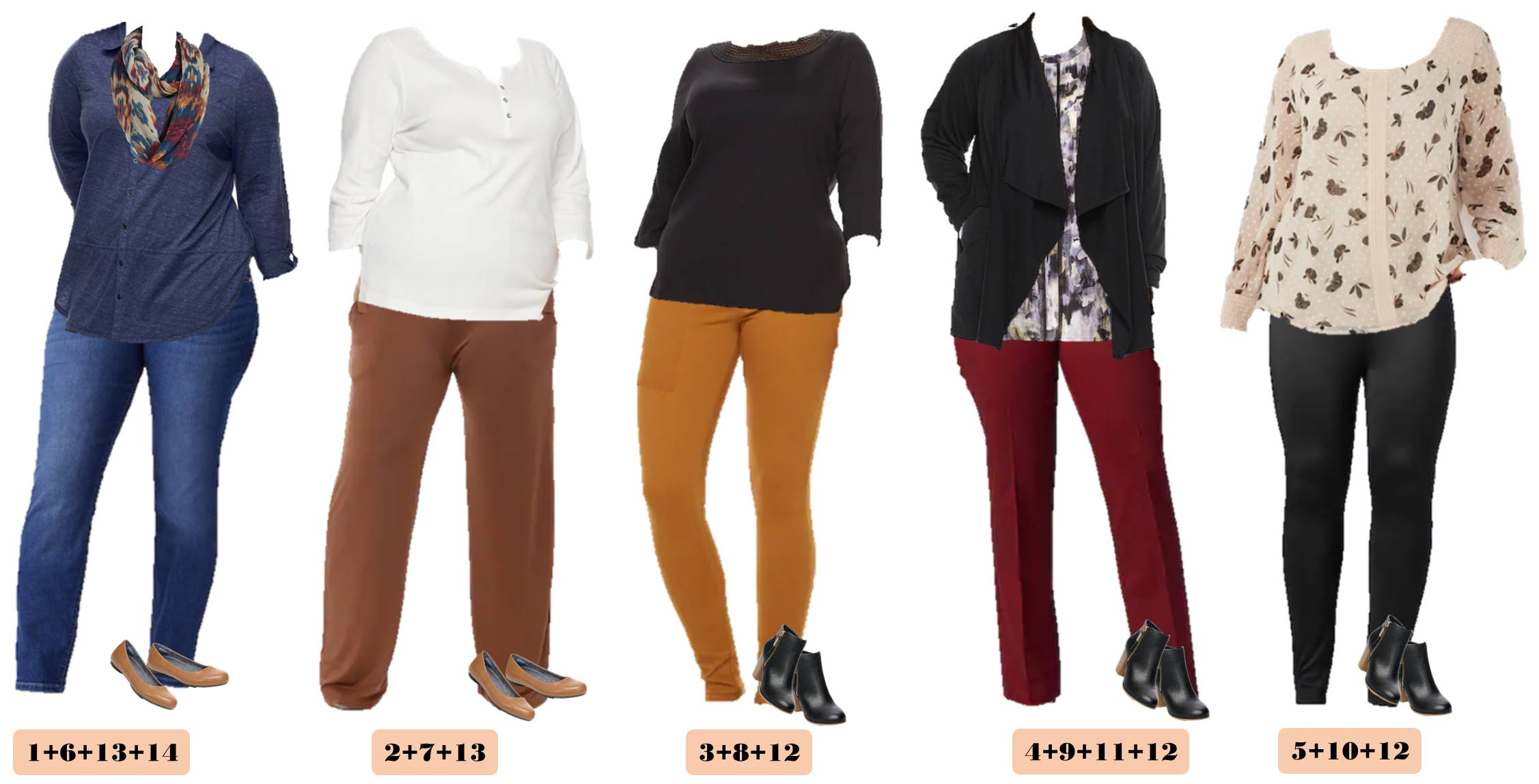 cute simple casual plus size outfits for fall