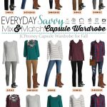 Fall Casual Outfits – JCPenney Capsule Wardrobe