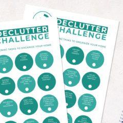 15 Minute Declutter Challenge
