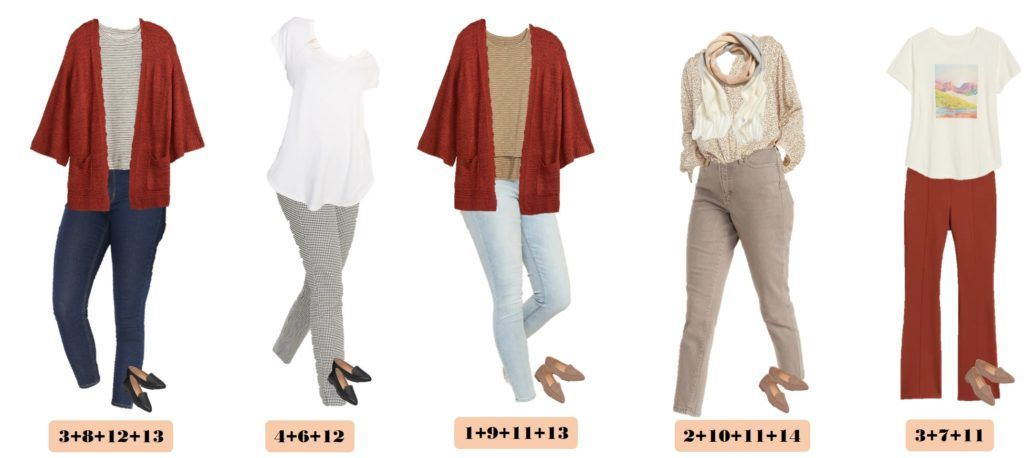 5 winter to spring Outfit Ideas - Capsule wardrobe