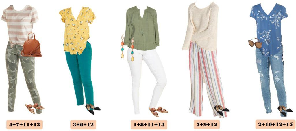 stripe tops cute casual spring outfits