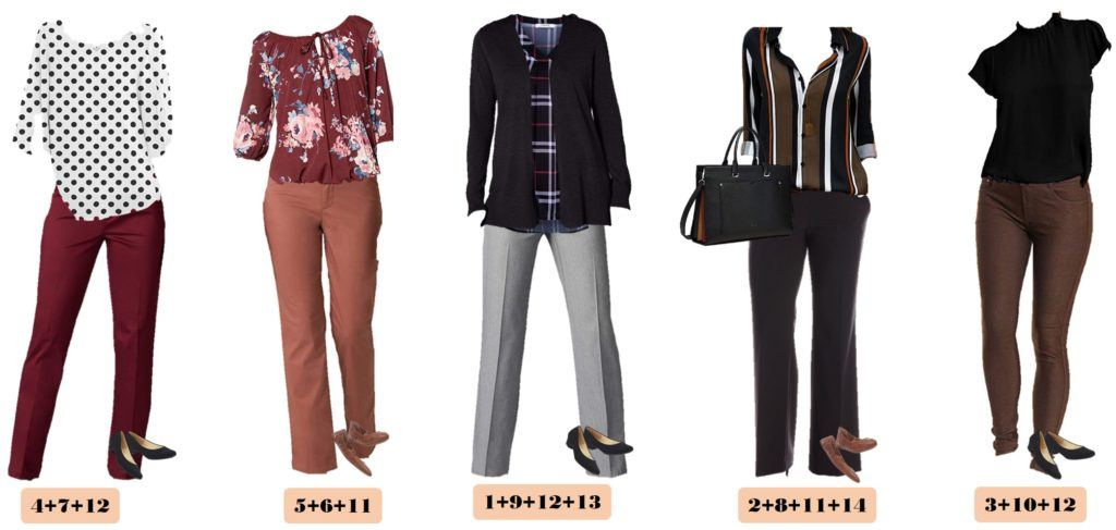 5 Casual Teacher Outfits Capsule Wardrobe Outfit Ideas
