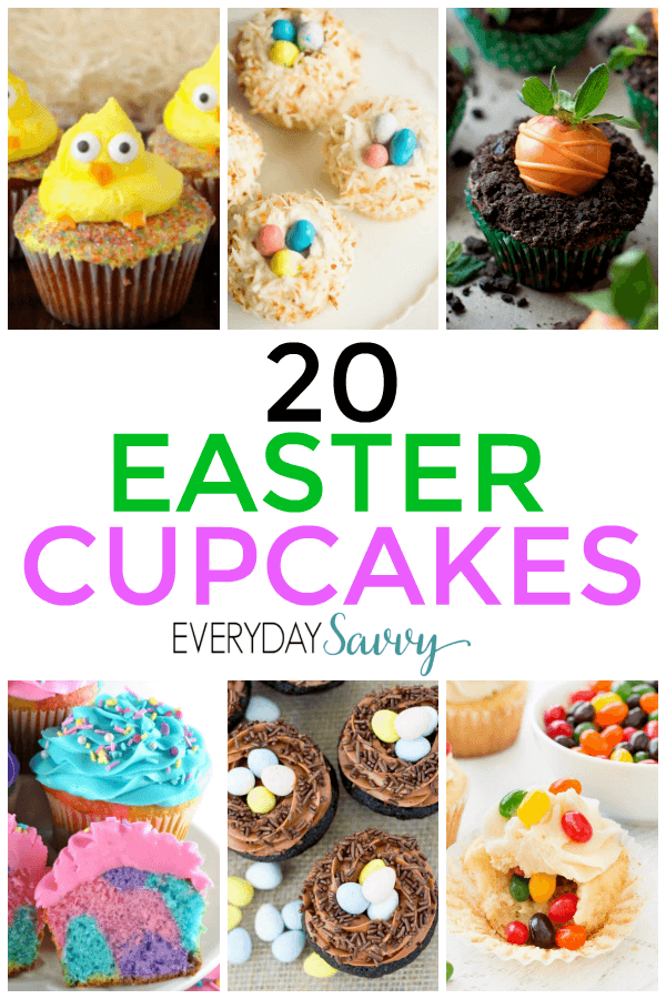 Easter cupcakes recipes perfect to make for Easter celebrations