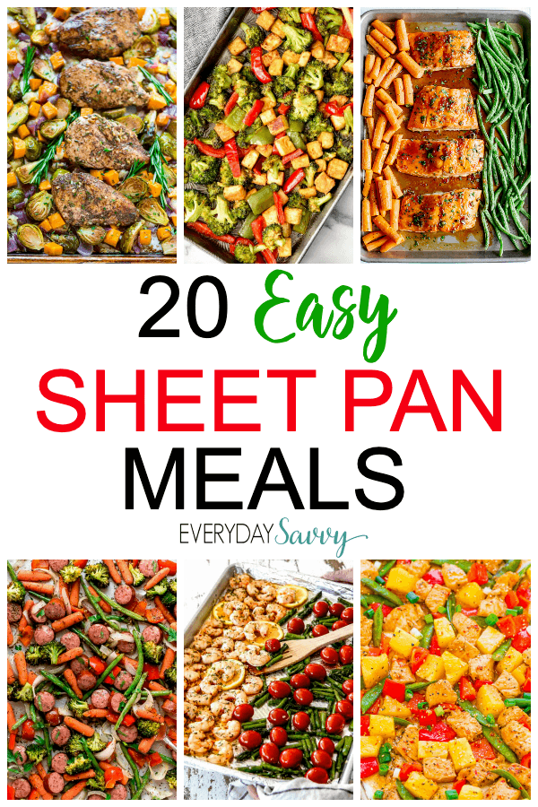 easy one sheet meals