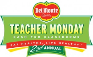 del monte teacher monday fresh fruit coupon