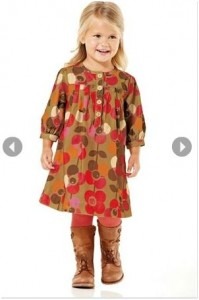 next direct floral print girls dress free shipping