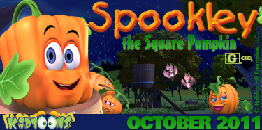 spookley the square pumpkin movie giveaway toy