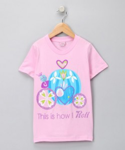 princess academy tee shirt this is how I roll zulily coupon