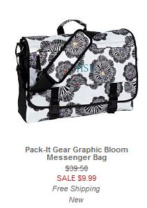 pottery barn teen messenger bag sale free shipping