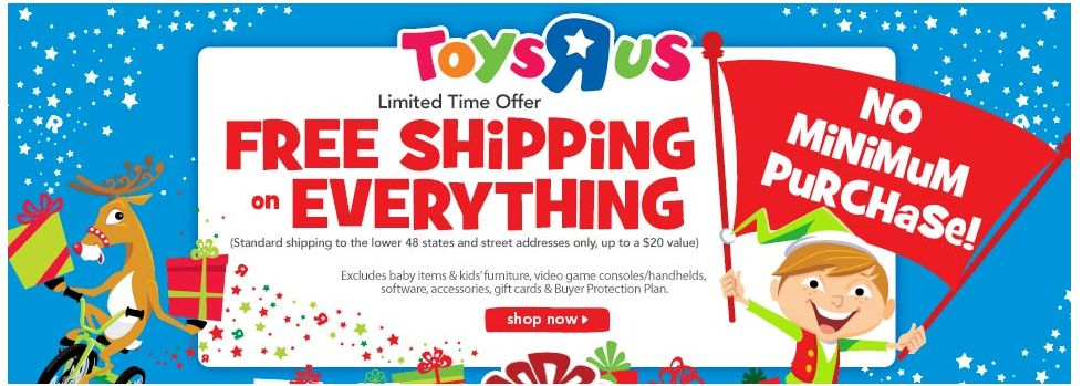toys r us free shipping no min legos, playmobil calico critters