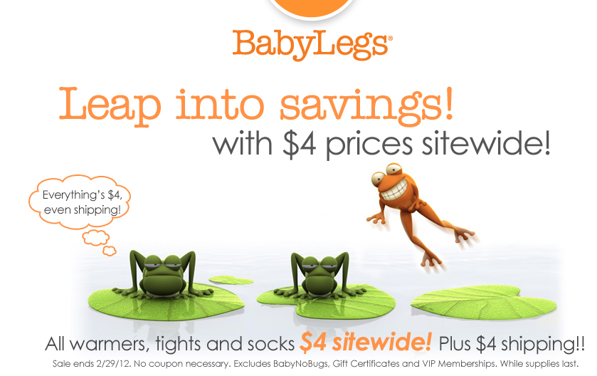 baby legs $4 sale flat rate shipping