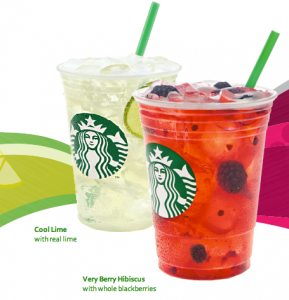 starbucks free drinks refreshers