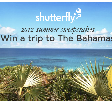 shutterfly free prints prizes contest trip