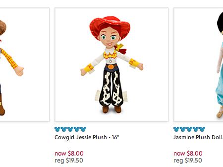 disney store plush toy free shipping coupon code