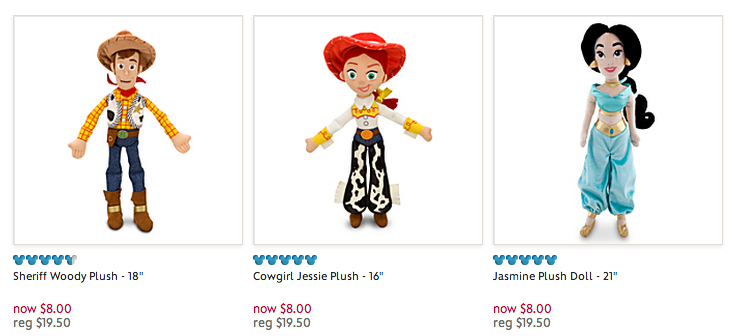 disney store plush toy free shipping coupon code
