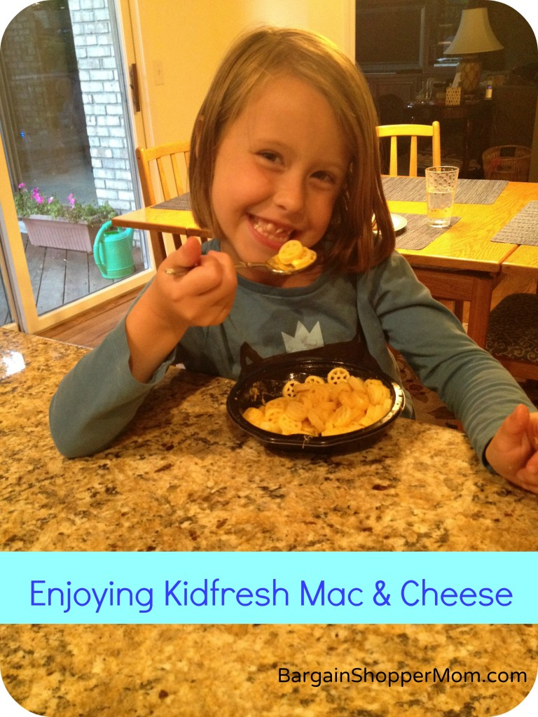 kidfresh mac and cheese healthy frozen kid meals