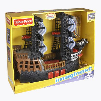 pirate ship imaginext