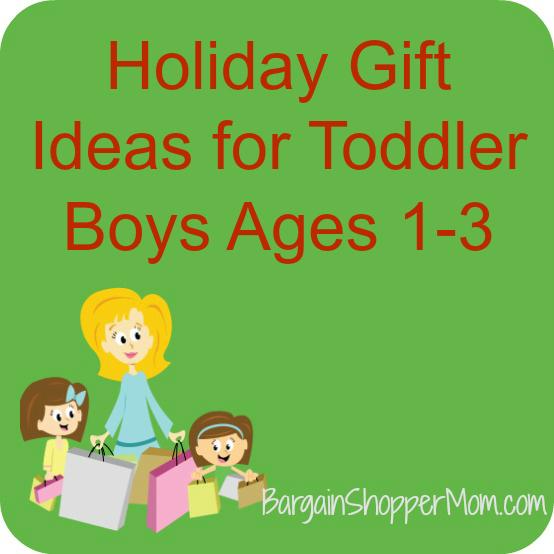 BargainShopperMom Toddler Boy Gift Ideas