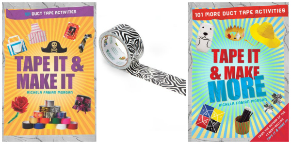Duct Tape Books for Girls Great Gift Ideas for Tweens