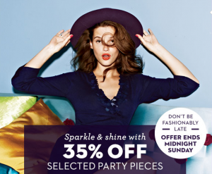 boden 35% of coupon code party outerwear