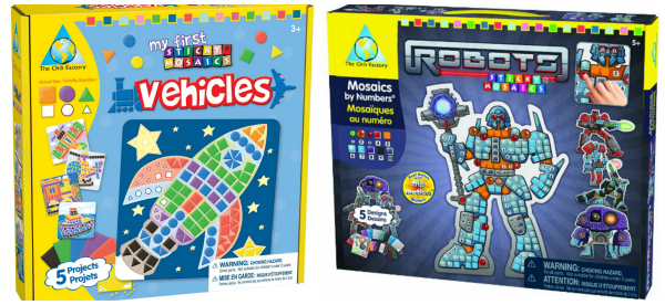 Sticky Mosaics for Boys Great Gifts