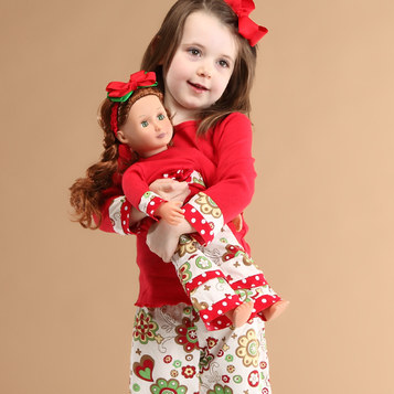 matching girl and doll outfit American Girl