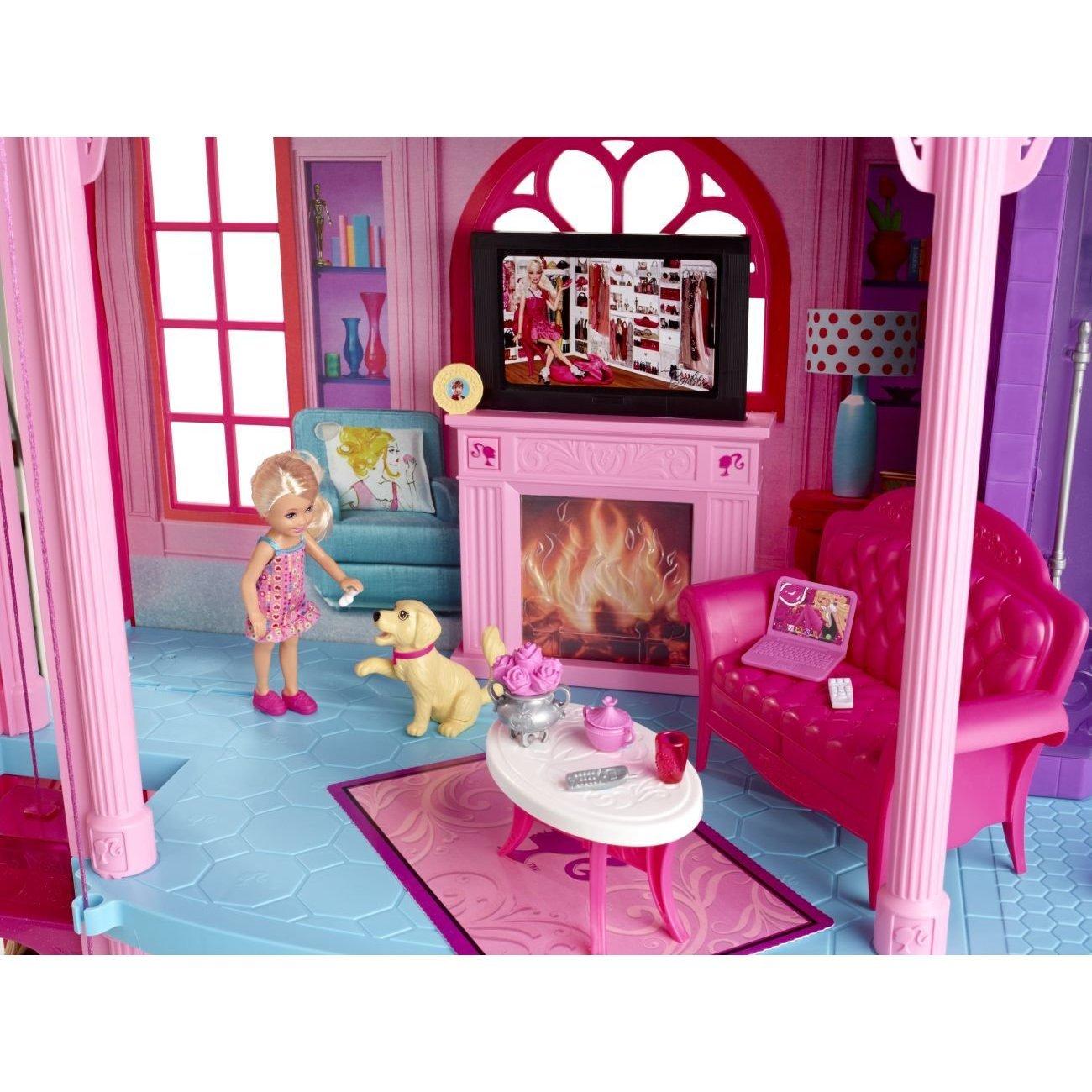 Барби домики  видео