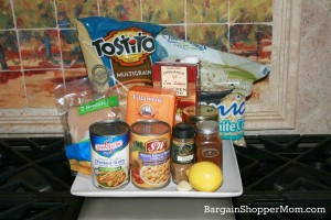 Easy Chicken Tortilla Soup Ingredients