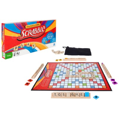 Scrabble Crossword with Power Tiles