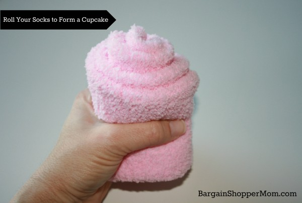 Spa Sock Cupcake Roll Socks