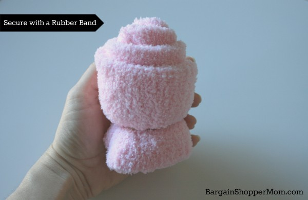 Spa Sock Tutorial Rubber Band