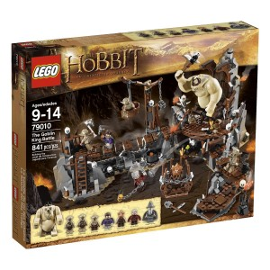 The Hobbit The Goblin King Battle 79010