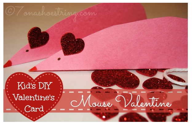 diy mouse valentine
