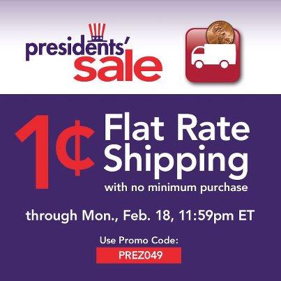 Joann Presidents Sale