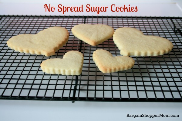 No Spread Sugar Cookie Recipe