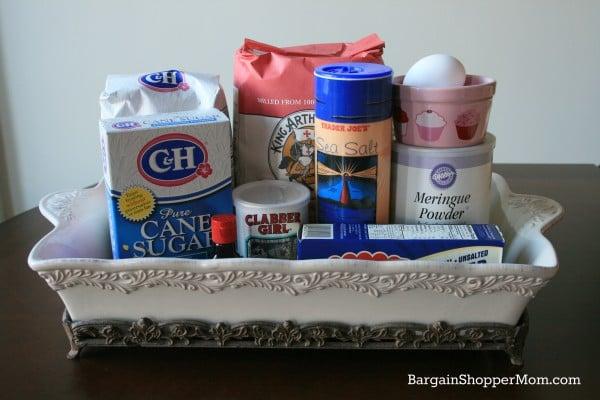 No Spread Sugar Cookies Ingredients