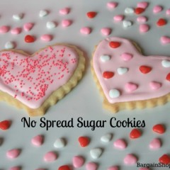 No Spread Sugar Cookies and Perfect Icing