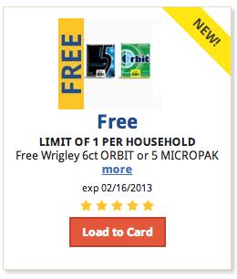 free gum coupon