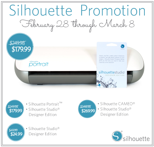 Silhouette America March Promotion