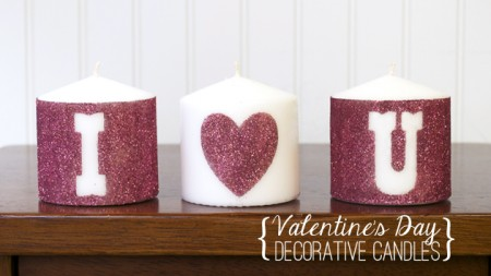 Silhouette Double Sided Adhesive Candles