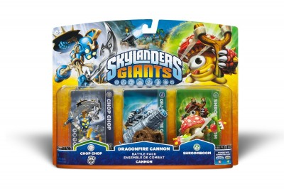 Skylanders Giants Battlepack Shroomboom
