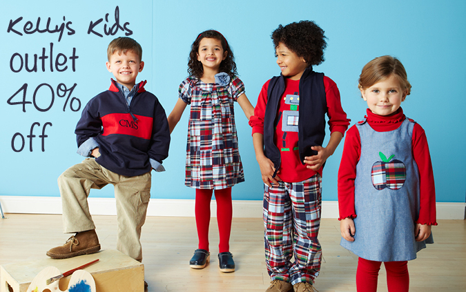 kelly's kids sale fall 40% off