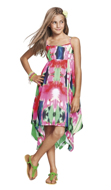 Aeropostale Floral Empire Dress