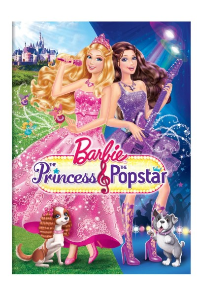 Barbie The Princess and the Popstar DVD