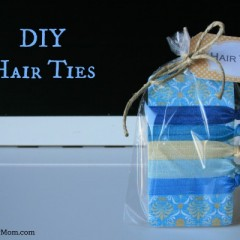 DIY No Snag Hair Ties