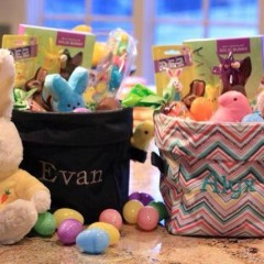easter basket thirty one bin
