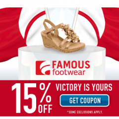 15 Off Famous Footwear Printable