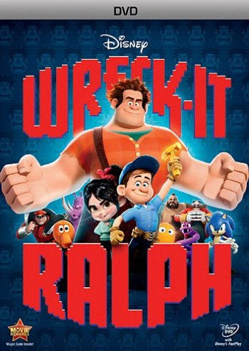Wreck It Ralph DVD